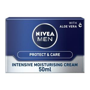 Nivea Men Intensive Moisturising Face Cream, Protect & Care 50ml