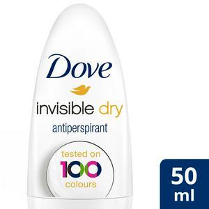 Dove Invisible Dry Roll-On Anti-Perspirant Deodorant 50ml