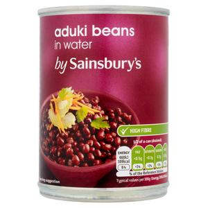 SAINSBURYS > Food Cupboard > Sainsbury's Aduki Beans 400g (235g*)