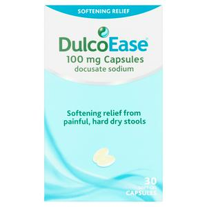 Dulcoease 100mg Softening Relief Capsules x30