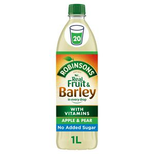 Robinsons Fruit & Barley Apple & Pear Squash No Added Sugar 1L