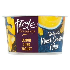 Sainsbury's West Country Lemon Curd Yogurt, Taste the Difference 150g