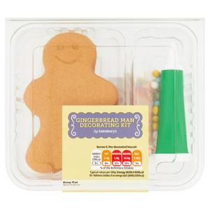 Sainsbury's 'Decorate Your Own' Gingerbread x5