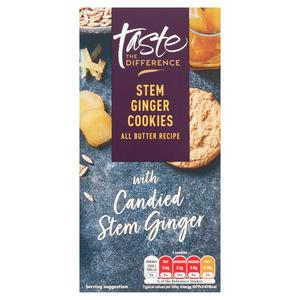 Sainsbury's Stem Ginger Cookies, Taste the Difference 200g