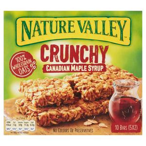 Nature Valley Crunchy Oats & Maple Syrup Cereal Bars 5x42g