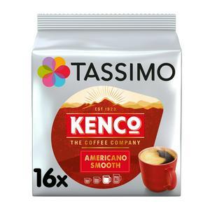 Tassimo Kenco Americano Smooth Coffee Pods x16