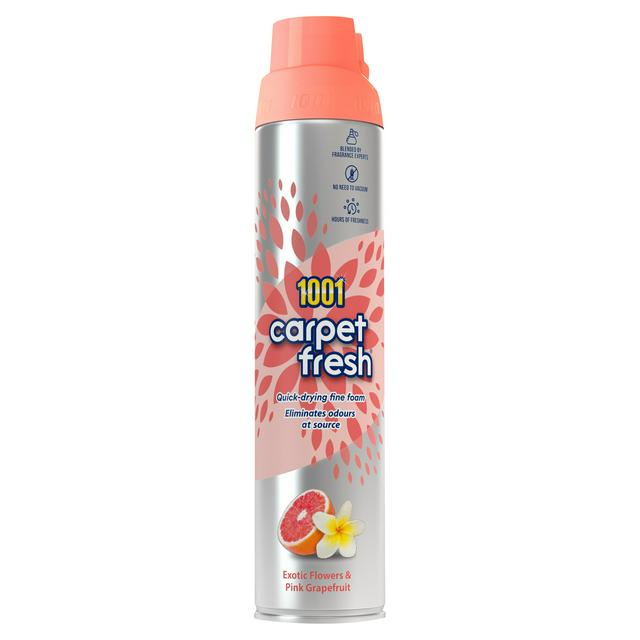 1001 Carpet Fresh Exotic Flowers Pink Grapefruit 300ml Sainsbury S