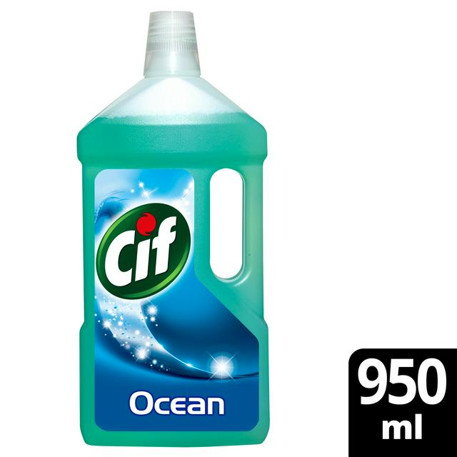 cif floor cleaner ocean 950ml