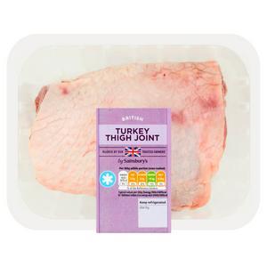 Sainsbury's British Fresh Turkey Thigh Joint 750g