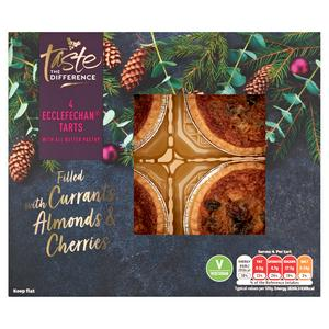 Sainsbury's Ecclefechan Tarts with All Butter Pastry, Taste the Difference x4