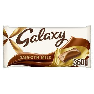 Galaxy Smooth Milk Chocolate Large Gifting Bar 360g