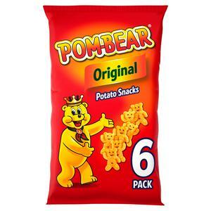 Pom-Bear Original Multipack Crisps 6x13g