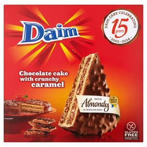 Almondy Almond Tarta With Daim 400g Dessert (Serves 6)