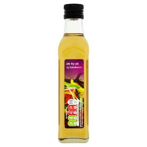 Sainsbury's Stir Fry Oil 250ml