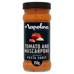 Napolina Pasta Sauce, Tomato & Mascarpone 350g