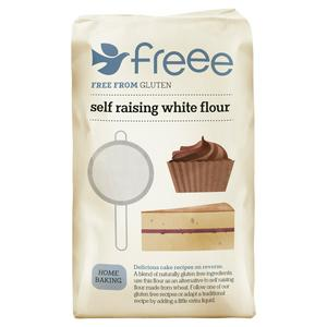 FREEE by Doves Farm Self Raising White Flour Gluten Free 1kg