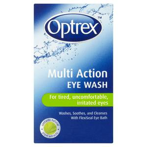Optrex Multi Action Eye Wash For Tired, Uncomfortable, Irritated Eyes 100ml