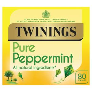 Twinings Peppermint Tea, 80 Tea Bags