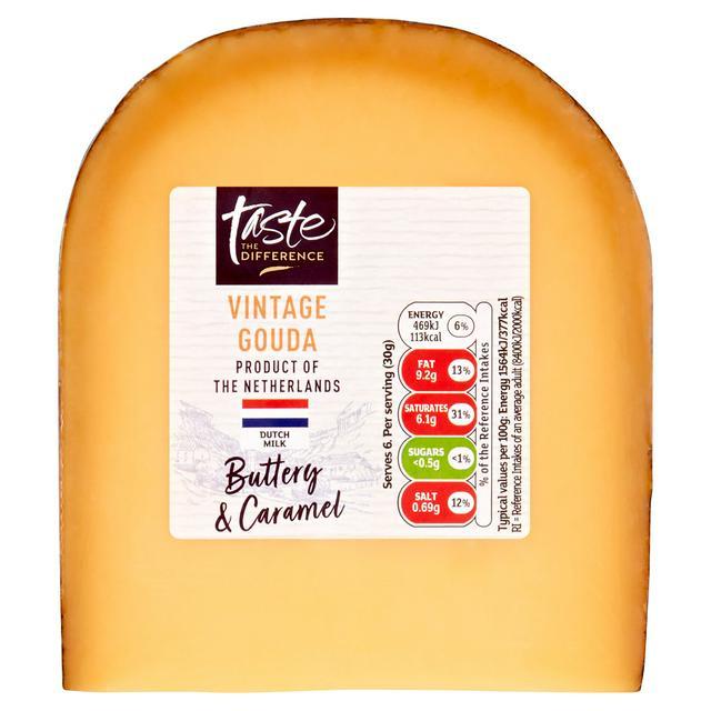 Sainsbury S Vintage Gouda Cheese Taste The Difference 180g Sainsbury S