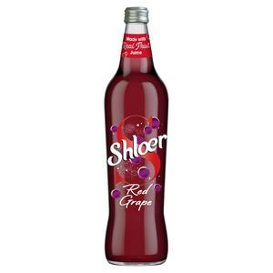 Shloer Red Grape Sparkling Juice Drink 750ml