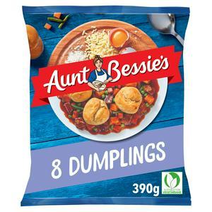 Aunt Bessie's Light & Fluffy Dumplings x8 390g