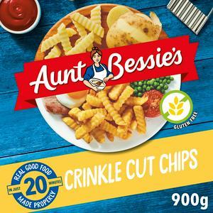 Aunt Bessie's Crinkle Cut Chips 900g