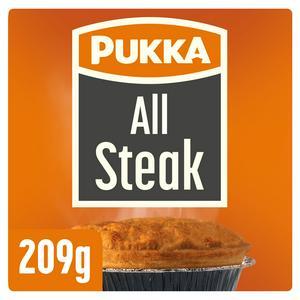 Pukka Pies All Steak Pie 209g