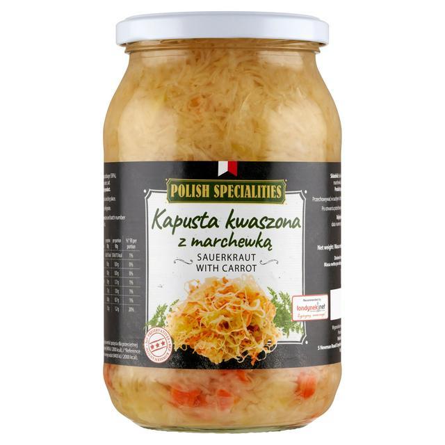Polish Specialities Sauerkraut With Carrot 900g