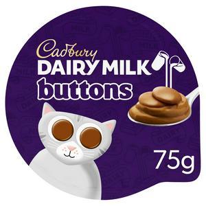 SAINSBURYS > Dairy Eggs Chilled > Cadbury Dairy Milk Buttons Chocolate Dessert 85g