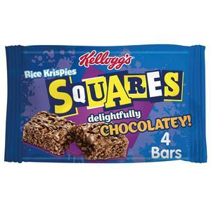 Kellogg's Rice Krispies Squares Totally Chocolate x4