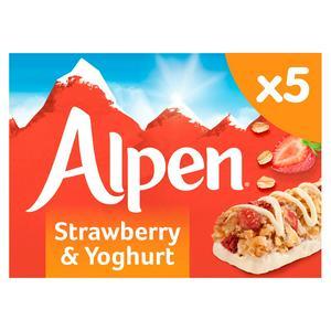 Alpen Strawberry & Yogurt Bar 145g