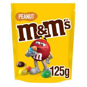 M M S Peanut Chocolate Pouch Bag 125g Sainsbury S
