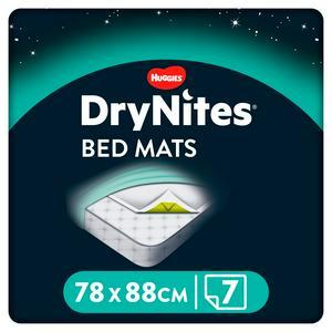 DryNites Bedmats 7 Sheets (88x78cm)