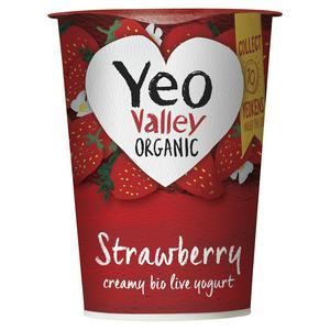 Yeo Valley Organic Strawberry Yogurt 450g