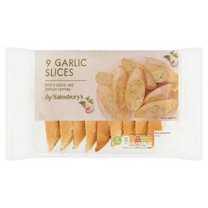 Sainsbury's Garlic Slices x9 270g