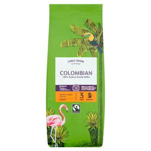 Sainsbury's Fairtrade Colombian Coffee, Taste the Difference, Strength 3 454g