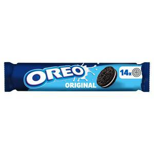SAINSBURYS > Food Cupboard > Oreo Original Sandwich Biscuits 154g