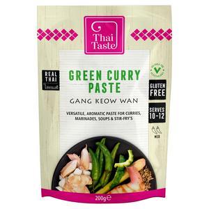Thai Taste Green Curry Paste 200g