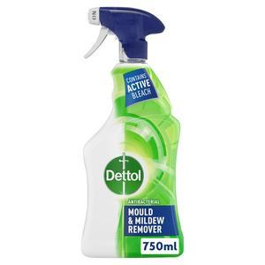 Dettol Antibacterial Disinfectant Mould & Mildew Remover Spray 750ml
