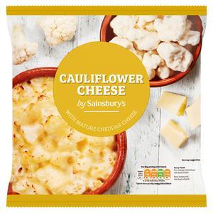 Sainsbury's Cauliflower Cheese 680g