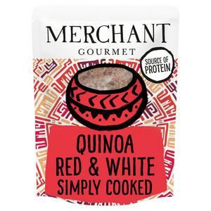 Merchant Gourmet Simply Cooked Red & White Quinoa 250g