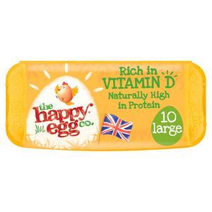 Happy Egg Large Free Range Eggs x10