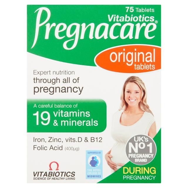Pregnacare During Pregnancy Original x75 | Sainsbury's