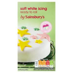 Sainsbury's Ready to Roll White Icing 500g