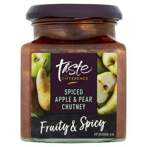 Sainsbury's Chutney Apple & Pear, Taste the Difference 300g
