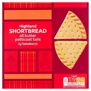 Sainsbury's All Butter Shortbread Petticoat Tails 360g