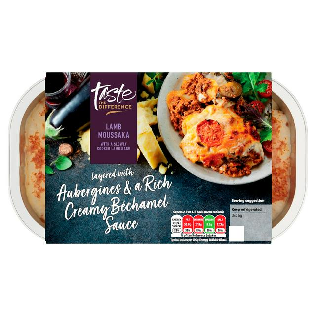 Sainsbury S Lamb Moussaka Taste The Difference 800g Serves 2 Sainsbury S