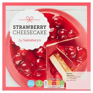Sainsbury's Strawberry Cheesecake Dessert 510g (serves 6)