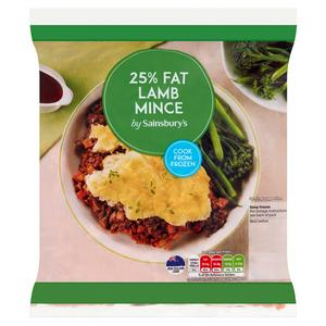 Sainsbury's New Zealand Lamb Mince 500g