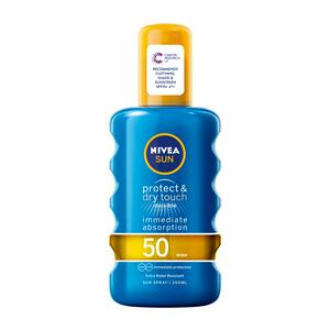 Nivea Sun Cooling Suncream Spray SPF 50 Protect & Refresh 200ml